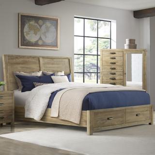 See Details - Edison Storage Bed