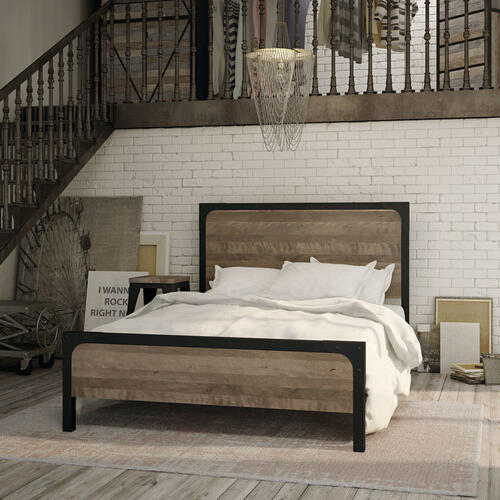 Cordoba Regular Footboard Bed (birch) - Queen