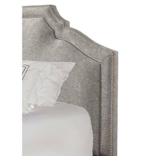 CASEY - SHIMMER Queen Headboard 5/0 (Grey)