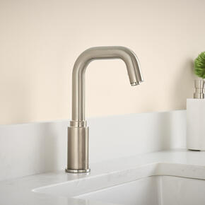 Serin Deck-Mount Sensor-Operated Faucet  American Standard - Brushed Nickel