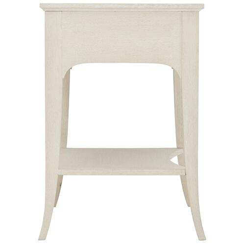 Allure Nightstand in Manor White (399)