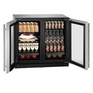 "U-Line3036rrgl 36"" Refrigerator With Stainless Frame Finish (115 V/60 Hz Volts /60 Hz Hz)"