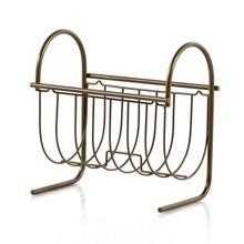 See Details - Birmingham Magazine Rack-antique Brass