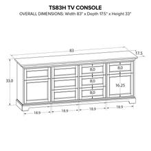 TS83H Custom TV Console