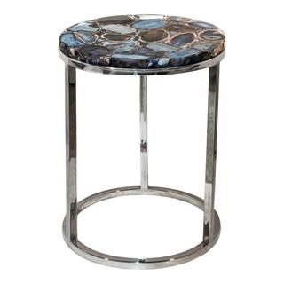 Shimmer Agate Accent Table