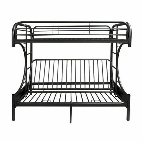 ACME Eclipse Twin XL/Queen/Futon Bunk Bed - 02093BK - Black