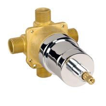 Rough Brass While Supplies Last - Pressure Balance Valve W/ Ceramic Disc Cartridge - Ips/sweat Less Stops Gerber Pak