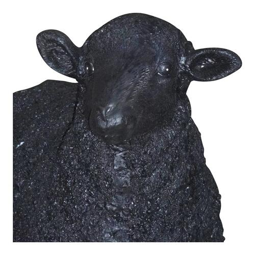 Dolly Sheep Statue Black