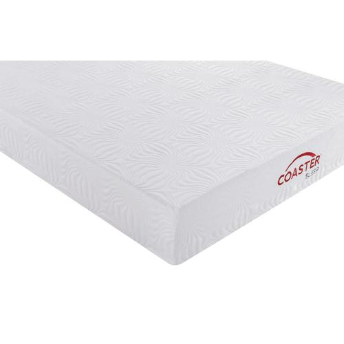 Coaster - Key White 10-inch Queen Memory Foam Mattress