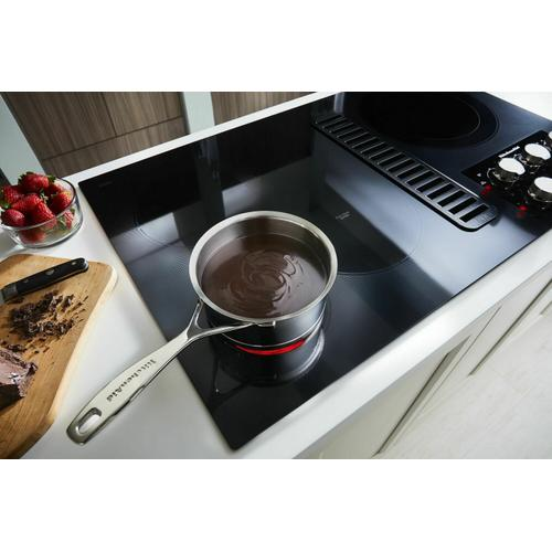 """KitchenAid Canada - 36"""" Electric Downdraft Cooktop with 5 Elements - Stainless Steel"""