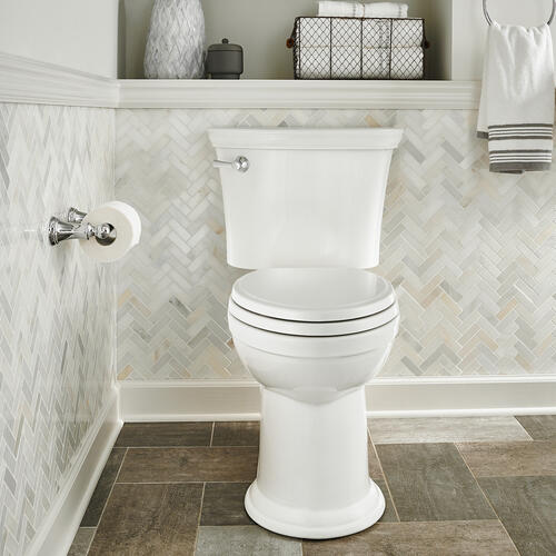 American Standard - Heritage VorMax Right Height Elongated Toilet - White