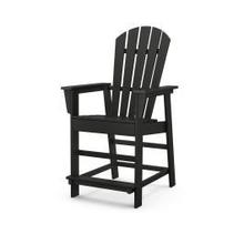 View Product - South Beach Counter Chair in Black