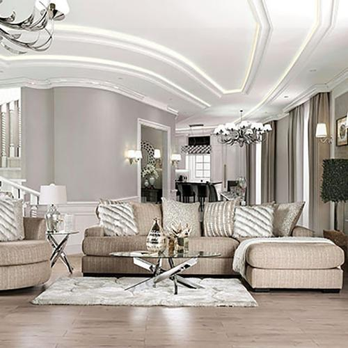 Furniture of America - Sectional Avery
