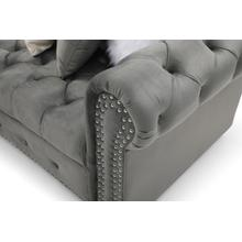 See Details - Fillmore Sectional, Gray