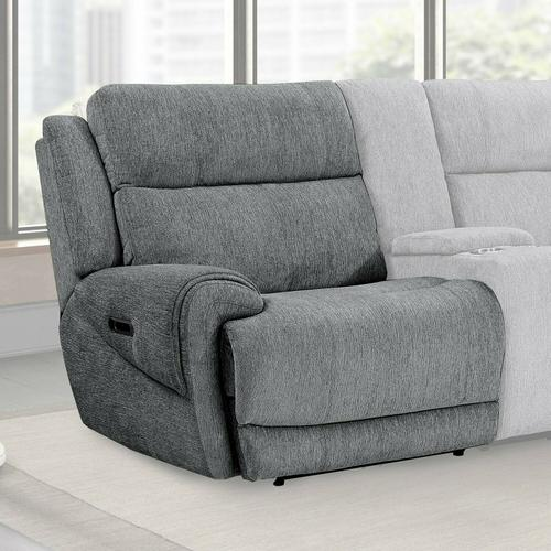 Product Image - SPENCER - TIDE GRAPHITE Power Left Arm Facing Recliner