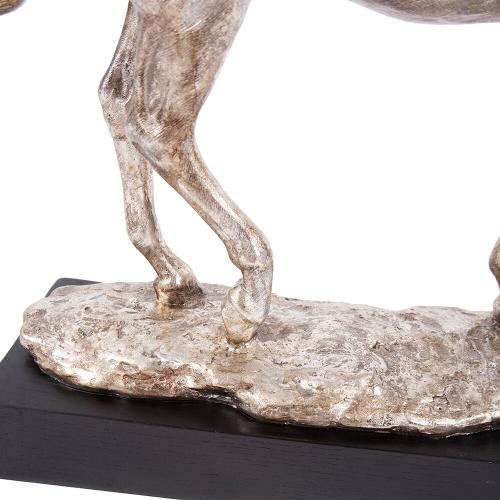 Howard Elliott - Silver Horse Statue