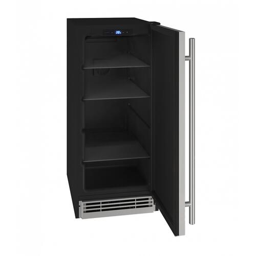"Hre115 15"" Refrigerator With Stainless Solid Finish (115v/60 Hz Volts /60 Hz Hz)"