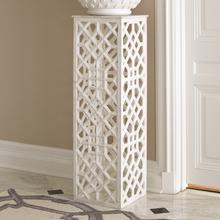 See Details - Marble Fret Pedestal
