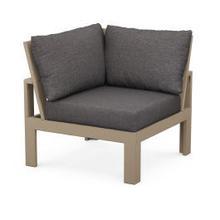 View Product - Modular Corner Chair in Vintage Sahara / Ash Charcoal
