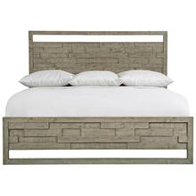 Queen-Sized Shaw Panel Bed in Morel (398)