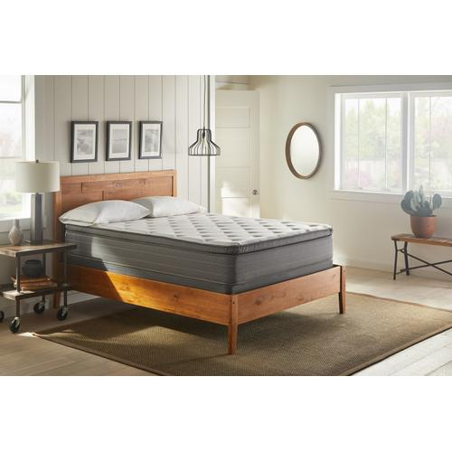 "American Bedding 11.5"" Medium Pillow Top Mattress, California King"