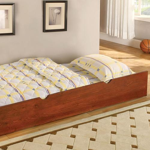 Coney Island Twin Over Twin Bunk Bed BK524 in Oak by Furniture of America