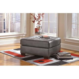 Alliston Oversized Accent Ottoman Gray