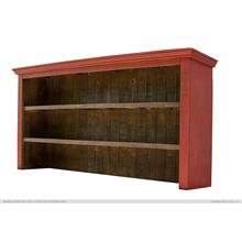 See Details - Hutch for Console, Red finish