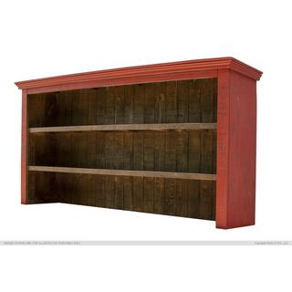 Hutch for Console, Red finish