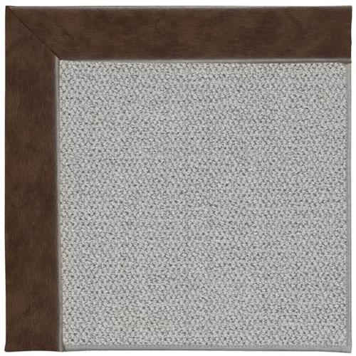 """Inspire-Silver Cowhide Mahogany - Rectangle - 18"""" x 18"""""""