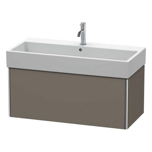 Product Image - Vanity Unit Wall-mounted, Flannel Gray Satin Matte (lacquer)