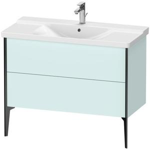 Vanity Unit Floorstanding, Light Blue Matte (decor)