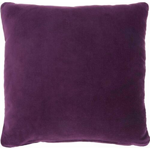 "Life Styles Ss900 Purple 16"" X 16"" Throw Pillow"
