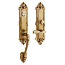 Vintage Brass Kensington Entrance Trim