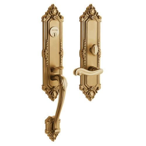 Vintage Brass Kensington Entrance Trim
