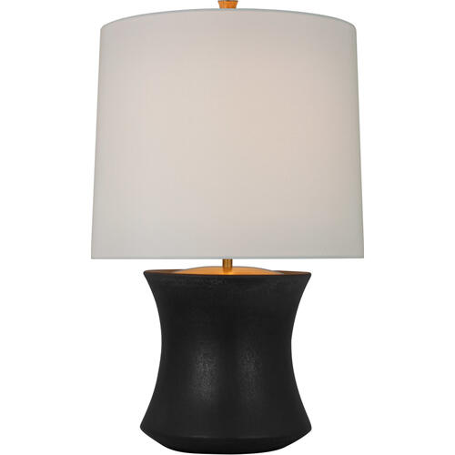 AERIN Marella 28 inch 15.00 watt Stained Black Metallic Accent Lamp Portable Light