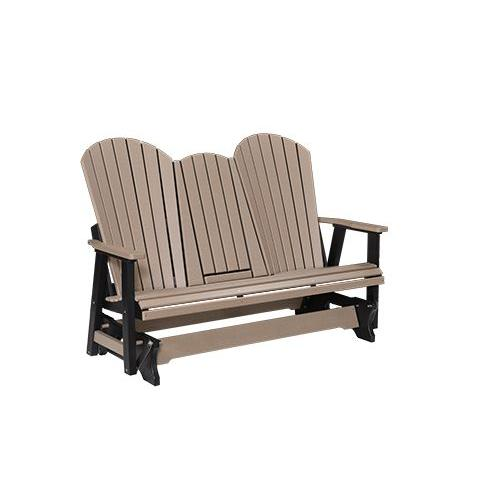 Comfo-Back Three Seat Glider with Console