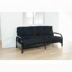 "ACME Nabila Full Futon Mattress - 02802 - 6""H - Black"