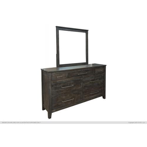 International Furniture Direct - 7 Drawer, Dresser