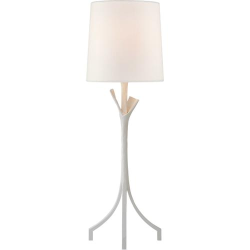 AERIN Fliana 28 inch 100 watt Plaster White Table Lamp Portable Light