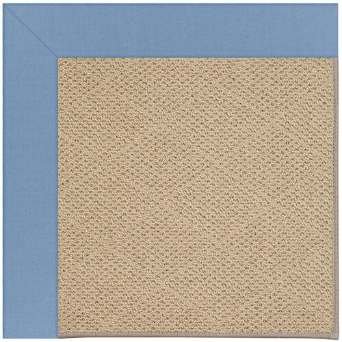 Creative Concepts-Cane Wicker Canvas Air Blue Machine Tufted Rugs