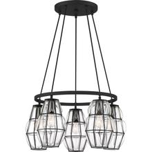 View Product - Blythe Chandelier in Earth Black