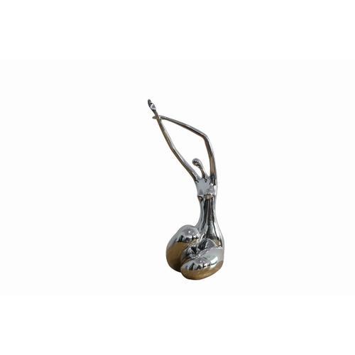 Gallery - Modrest Lass Modern Silver Sculpture