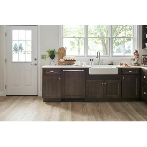 KitchenAid - 39 dBA Panel-Ready Dishwasher with Third Level Utensil Rack - Panel Ready PA