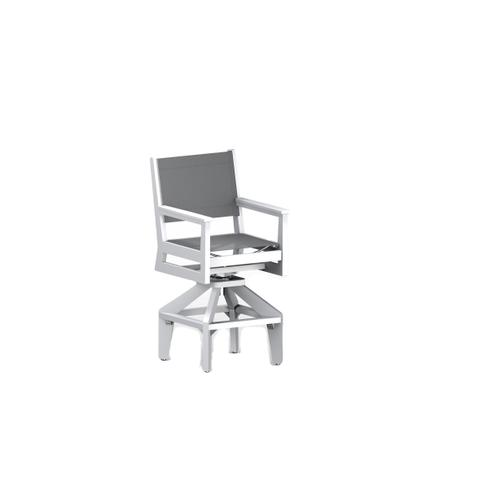 Mayhew Sling Swivel Bar Chair