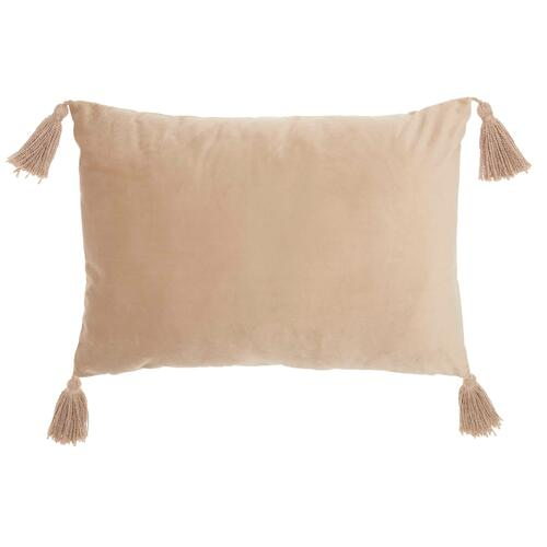 "Life Styles Et093 Beige 14"" X 20"" Throw Pillow"