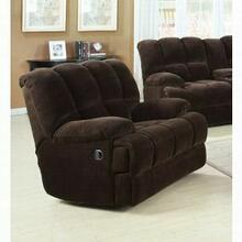 ACME Ahearn Rocker Recliner - 50477 - Chocolate Champion