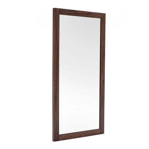 VIG Furniture - Modrest Amberlie - Modern Walnut Floor Mirror