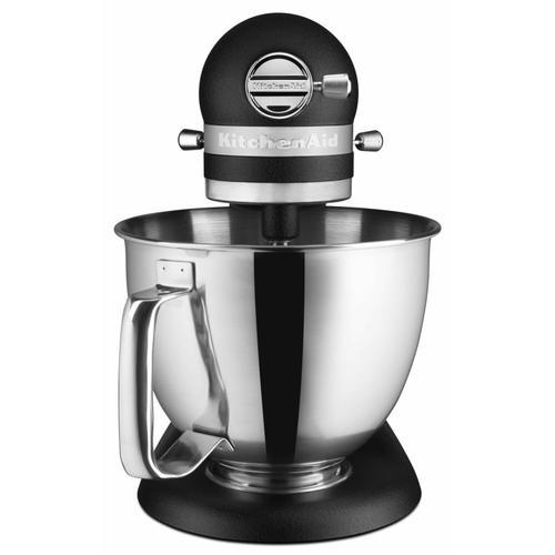 KitchenAid - Artisan® Mini 3.5 Quart Tilt-Head Stand Mixer - Cast Iron Black