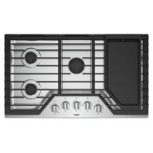 See Details - 36-inch Gas Cooktop with Griddle